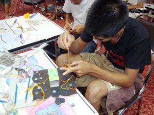 ค่ายเยาวชนสร้างสรรค์ผลงานศิลปะร่วมสมัย ปี ๕๒